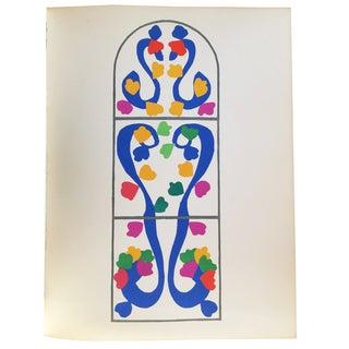 "Henri Matisse Orignal Lithograph ""Vigne"" 1954"