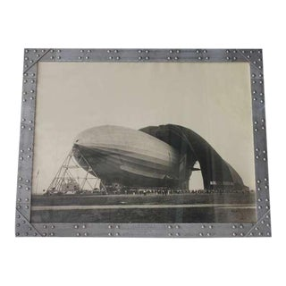 Antique Black & White Photo of the Zeppelin by Margaret Bourke