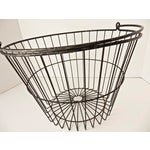 Image of Rustic Industrial Wire Egg Basket