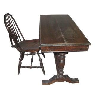 Writers Desk & Chair - A Pair