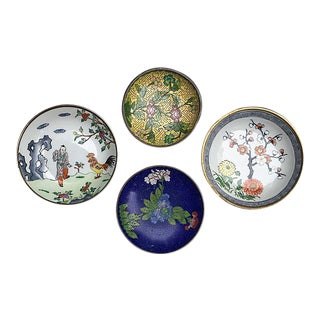 Vintage Chinoiserie Bowl Collection - Set of 4