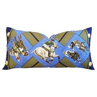 """Authintic Hermes """"Chantal De Crissey"""" Polo Pillow"""