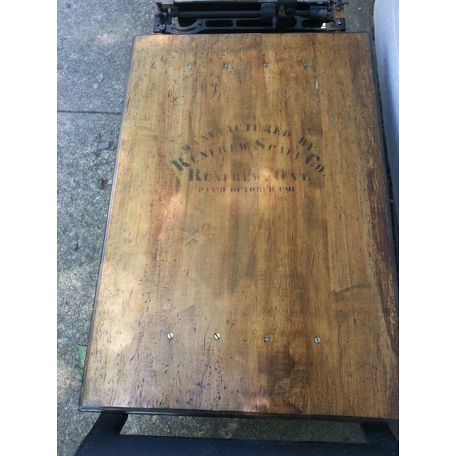Image of Antique Grain Scale Coffee Table