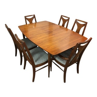 Kent Coffey Perspecta Dining Set - Set of 7