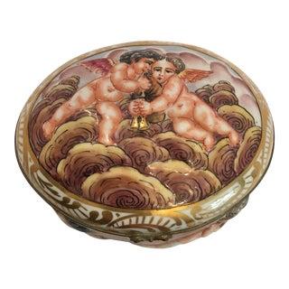 Naples Capodimonte Porcelain Box