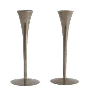 Danish Modern Candleholders - A Pair