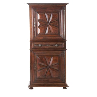 French 19th Century Louis XIII Homme Debout / Cupboard
