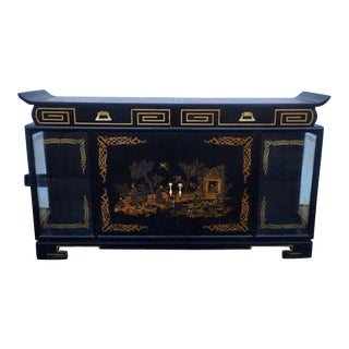 1937 James Mont Asian Influenced Cabinet