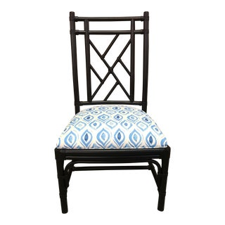 Taylor Burke Home Fretwork Ebony Chair