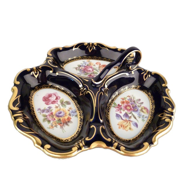 Jlmenau Porcelain Serving Platter - Image 5 of 8
