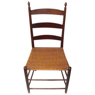 19th Century Mt. Lebanon Shaker Ladder Back and Tilter Side Chair