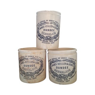 Victorian Marmalade Crocks - Set of 3