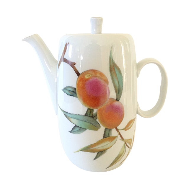 Royal Worcester Coffee Pot - Image 1 of 5