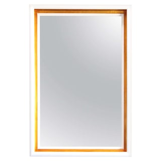 Paul Marra Design Cove Mirror in Lacquer and Gold