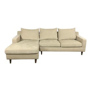 Modern Beige Sectional Sofa