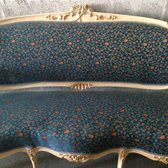 French Settee, Louis XVI Style - Image 3 of 5