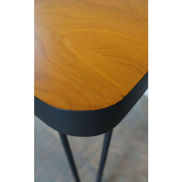 Image of Mid-Century Hairpin Side Table