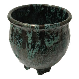 Brian Johansen Drip Glaze Ceramic Planter