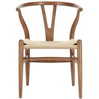 Hans Wegner Wishbone Style Chair - Walnut