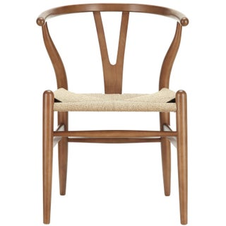 Hans Wegner Wishbone Style Chair - Walnut