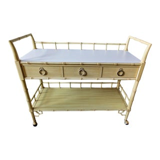 Vintage Thomasville Allegro Bar Cart