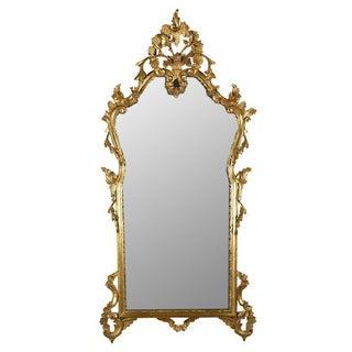 Italian Rococo Giltwood Mirror