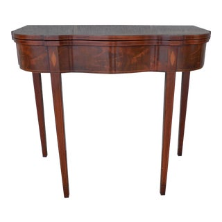 Beacon Hill Mahogany Federal Style Game Table