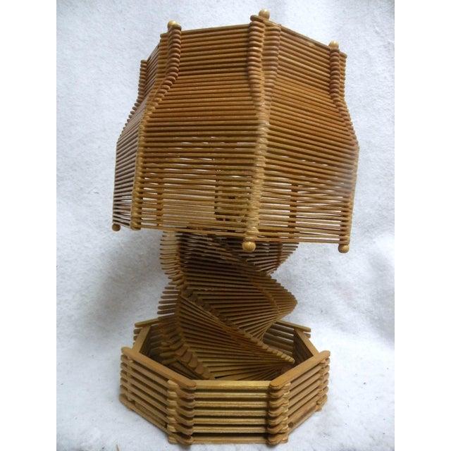 1960's Folk Art Lamp - Image 2 of 6
