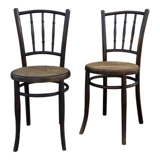 Mundus French Bentwood Dining Chairs - A Pair