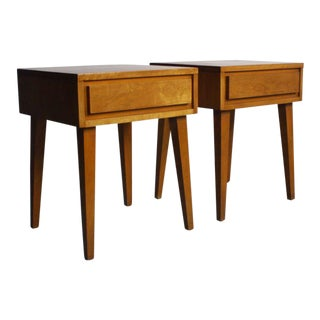 Russel Wright for Conant Ball End Tables - A Pair