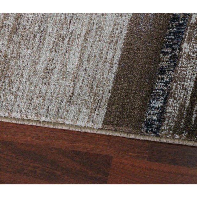 "Brown Neutral Rug - 5'3"" X 7'7"" - Image 5 of 5"