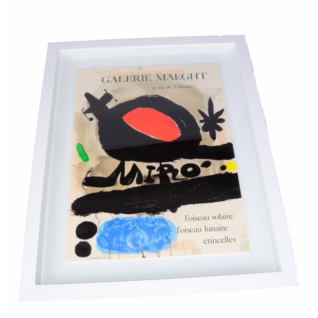 Joan Miró Lithograph Poster By Galerie Maeght - Image 3 of 11