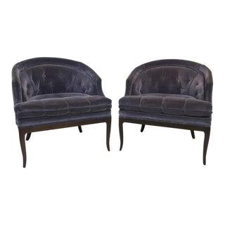T.H. Robsjohn-Gibbings for Widdicomb Lounge Chairs - Pair