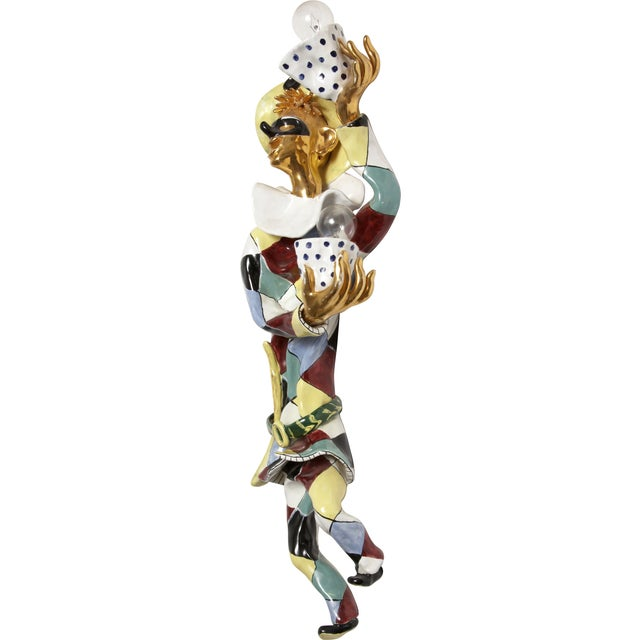 Mid-Century Modern San Polo Harlequin Sconce - Image 1 of 3