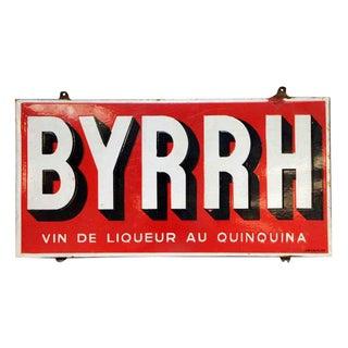 Byrhh Liquor Sign
