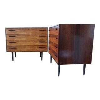 Mid-Century Danish Rosewood Dresser - A Pair