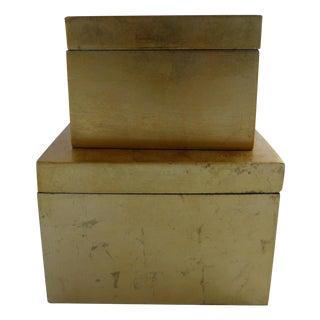 Gold Trinket Boxes