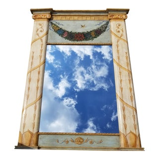 Baker, Knapp & Tubbs Hand Painted Florentine Mirror
