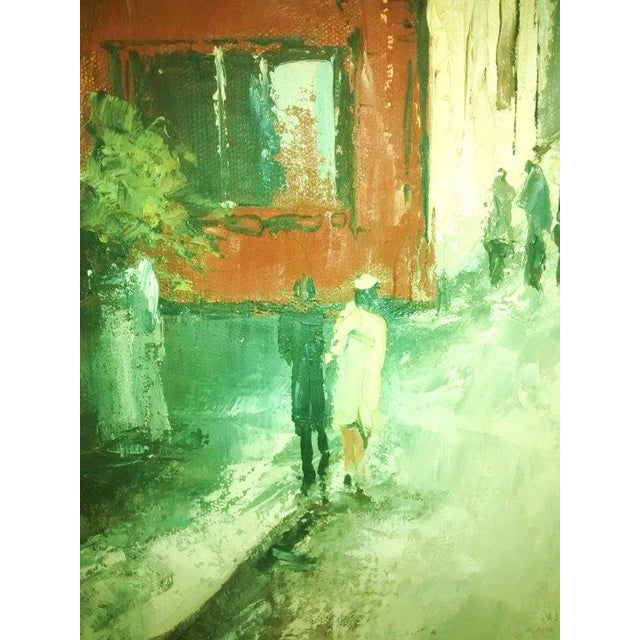 Hyung Chan Vintage Oil Painting of Paris - Image 4 of 6