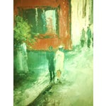 Image of Hyung Chan Vintage Oil Painting of Paris