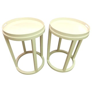 Williams Sonoma Side Tables/Trays - A Pair