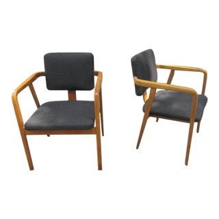 George Nelson for Herman Miller, Pair of Armchairs