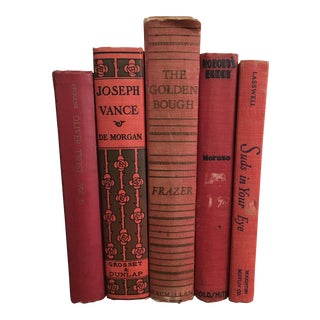 Early 1900's Red Books - Set of 5