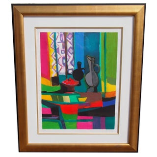 Marcel Mouly Still Life Serigraph