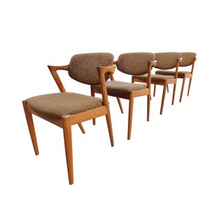 Kai Kristiansen for Schou Andersen Teak Chairs - Set of 4
