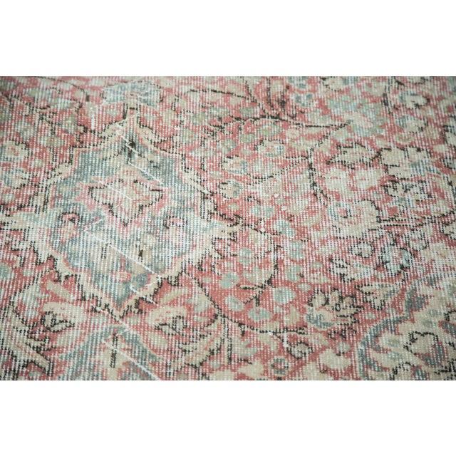 "Image of Distressed Oushak Carpet - 9'3"" X 12'9"""
