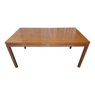 Tommi Parzinger Charak Dining Table & 3 Leaves