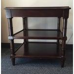 Image of Regency Side Tables - Pair