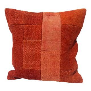 Overdyed Oushak Pillow Cover