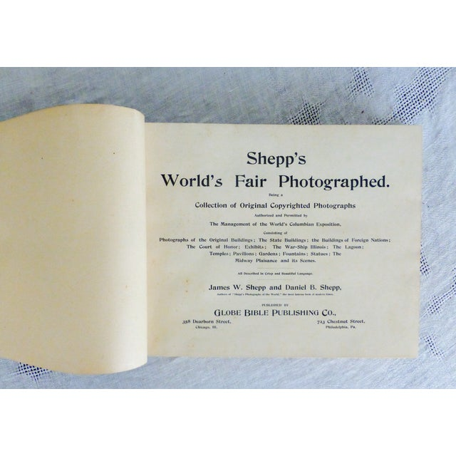 Shepp's World Fair Photographed, 1893 - Image 3 of 11